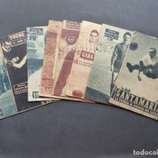Coleccionismo deportivo: 8 LIBROS IDOLOS DEL DEPORTE - SANTAMARIA, WILKES, GARAY, CARLOS GOMES, PAZOS, VIDAL. Lote 276267628