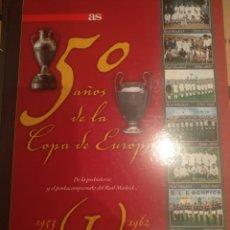 Collectionnisme sportif: COLECCIÓN DE LIBROS DEL 50 AÑOS DE EUROPA. YA RESERVADO A UN COMPRADOR.. Lote 277077013