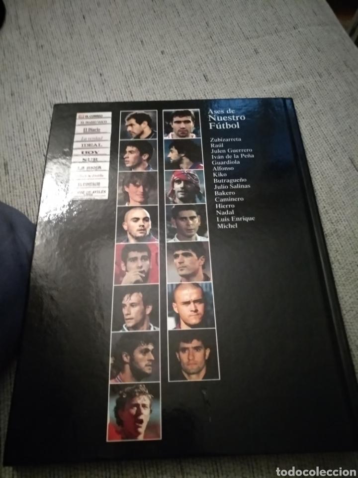 Coleccionismo deportivo: Libro Ases de Nuestro Fútbol - Estrellas del Deporte. Grupo Correo - Foto 2 - 277256068