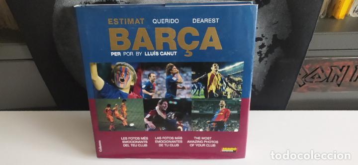 LIBRO ESTIMAT BARÇA BUEN ESTADO TAPA DURA (Coleccionismo Deportivo - Libros de Fútbol)