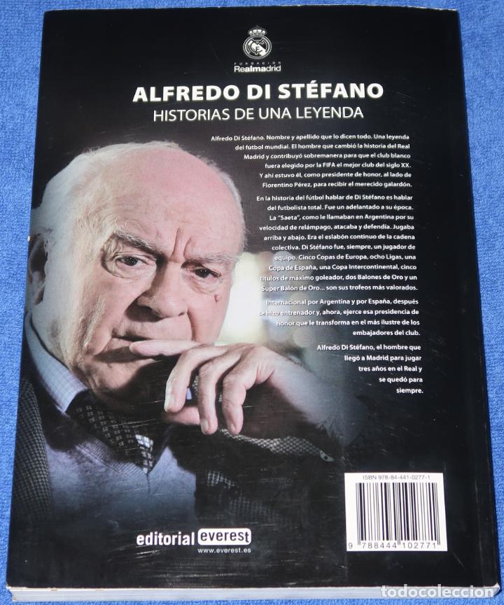 Coleccionismo deportivo: Alfredo Di Stéfano - Historias de una leyenda - Everest (2010) - Foto 2 - 277668513