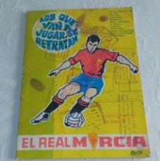Coleccionismo deportivo: EL REAL MURCIA. JUAN IGNACIO DE IBARRA. AÑO 1968.. Lote 277682678