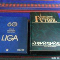 Coleccionismo deportivo: ENCICLOPEDIA UNIVERSAL DEL FUTBOL 1 2 3 4 BABILONIA, 60 AÑOS DE CAMPEONATO NACIONAL LIGA COMPLETA.. Lote 278223373