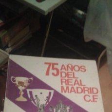 Coleccionismo deportivo: 75 AÑOS DEL REAL MADRID C.F.1902-1977 75 AÑOS DEL REAL MADRID C.F.1902-1977 EDITA PRENSA ESPAÑOLA. Lote 278628648