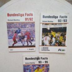 Coleccionismo deportivo: LOTE DE 3 LIBROS DE FUTBOL ALEMANIA ( BUNDESLIGA AÑOS 90 ). Lote 283204683