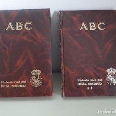 Coleccionismo deportivo: ABC. HISTORIA VIVA DEL REAL MADRID. 2 TOMOS.. Lote 283675373