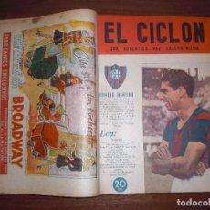 Coleccionismo deportivo: TOMO REVISTA EL CICLÓN SAN LORENZO ALMAGRO ARGENTINA 1946-1947. Lote 283929128