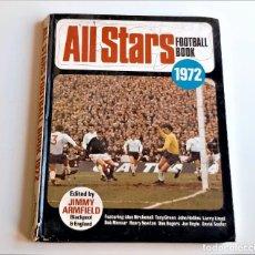 Collectionnisme sportif: 1972 LIBRO ALL STARS FOOTBALL BOOK - 21 X 27.CM. Lote 286177648