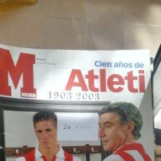 Coleccionismo deportivo: GUÍA ATLÉTICO MADRID. EDITORIAL DEPORTIVA MARCA, FORMATO TABLOIDE. Lote 288181358