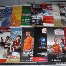Coleccionismo deportivo: COLECCION 15 PROGRAMAS FINAL PLAY OFF CHAMPIONSHIP A PREMIER LEAGUE (VER RELACIÓN Y FOTOS). Lote 290237083