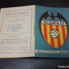 Coleccionismo deportivo: VALENCIA FUTBOL Nº 4 BIBLIOTECA INFANTIL DEPORTES MINIATURA - EDICIONES ALONSO. Lote 291414513