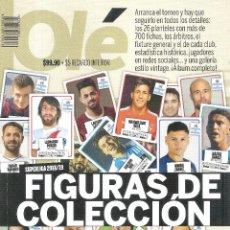 Coleccionismo deportivo: ESPECIAL OLÉ (ARGENTINA) SUPERGUÍA SUPERLIGA 2018/19. Lote 294435218