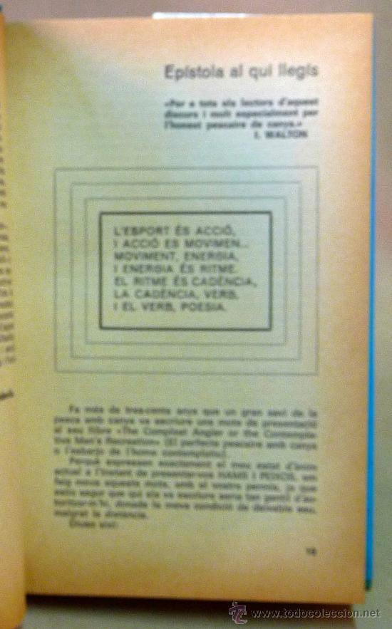 Libros: LIBRO, HAMS I PEIXOS, FERRAN SOLA, PULIDE, 1971 - Foto 5 - 27678197