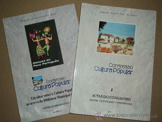 CONGRESSO CULTURA POPULAR - MAIA -PORTUGAL (Libros Nuevos - Otras lenguas locales - Gallego)