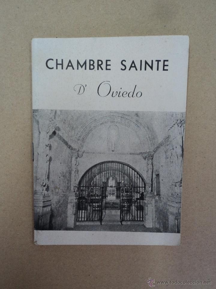 CHAMBRE SAINTE DE OVIEDO - AÑO 1963 (Libros Nuevos - Otras lenguas locales - Gallego)