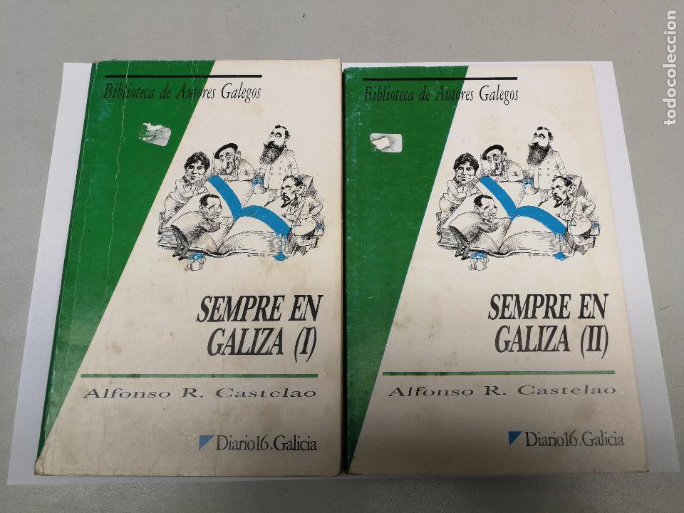 SEMPRE EN GALIZA ALFONSO R. CASTELAO, BIBLIOTECA DE AUTORES GALEGOS 2 VOLUMENES (Libros Nuevos - Otras lenguas locales - Gallego)