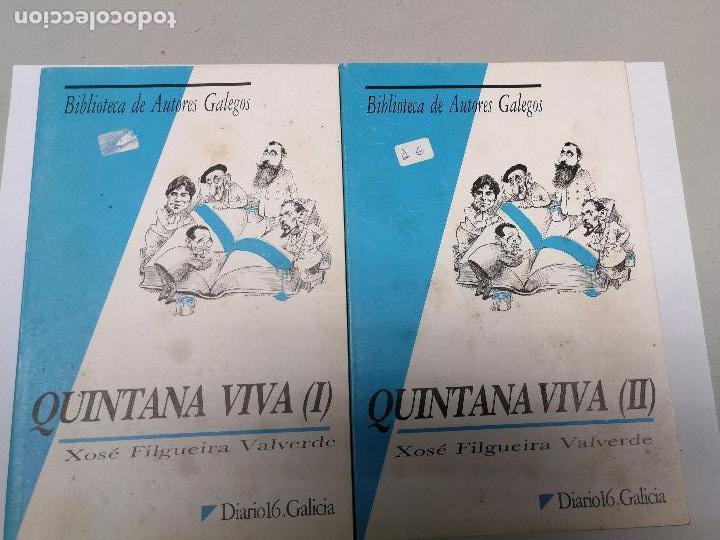 QUINTANA VIVA XOSE FILGUEIRA VALVERDE, BIBLIOTECA DE AUTORES GALEGOS 2 VOLUMENES (Libros Nuevos - Otras lenguas locales - Gallego)