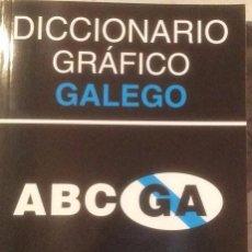Libros: 5 DICCIONARIOS GRÁFICO GALEGO. FOTOS. PEPE FERRÍN. Lote 110238879