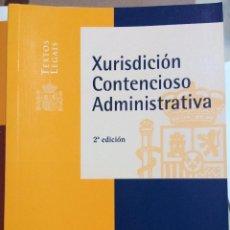 Libros: XURISDICCIÓN CONTENCIOSO ADMINISTRATIVA. VERSIÓN EN GALLEGO. BOE 2008. MINISTERIO PRESIDENCIA. Lote 113434895