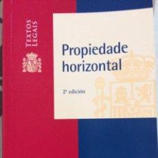 Libros: PROPIEDADE HORIZONTAL. VERSIÓN EN GALLEGO.BOE 2008. MINISTERIO PRESIDENCIA. Lote 113435491