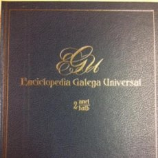 Libros: ENCICLOPEDIA GALEGA UNIVERSAL. IR INDO EDICIÓNS. TOMO 2. PEROZO JOSÉ ANTONIO / LEDO CABIDO BIEITO. Lote 116325699