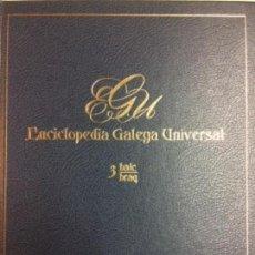 Libros: ENCICLOPEDIA GALEGA UNIVERSAL. IR INDO EDICIÓNS. TOMO 3. PEROZO JOSÉ ANTONIO / LEDO CABIDO BIEITO. Lote 116326275
