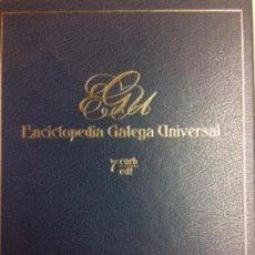 Libros: ENCICLOPEDIA GALEGA UNIVERSAL. IR INDO EDICIÓNS. TOMO 7. PEROZO JOSÉ ANTONIO / LEDO CABIDO BIEITO. Lote 116328007