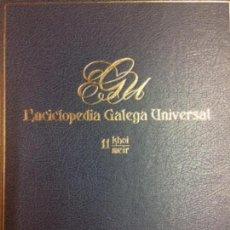 Libros: ENCICLOPEDIA GALEGA UNIVERSAL. IR INDO EDICIÓNS. TOMO 11. PEROZO JOSÉ ANTONIO / LEDO CABIDO BIEITO. Lote 116328979