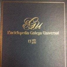Libros: ENCICLOPEDIA GALEGA UNIVERSAL. IR INDO EDICIÓNS. TOMO 13. PEROZO JOSÉ ANTONIO / LEDO CABIDO BIEITO. Lote 116329283