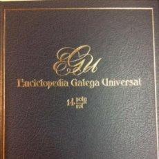 Libros: ENCICLOPEDIA GALEGA UNIVERSAL. IR INDO EDICIÓNS. TOMO 14. PEROZO JOSÉ ANTONIO / LEDO CABIDO BIEITO. Lote 116329599