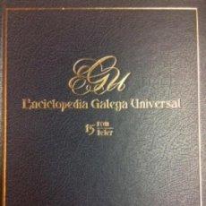 Libros: ENCICLOPEDIA GALEGA UNIVERSAL. IR INDO EDICIÓNS. TOMO 15. PEROZO JOSÉ ANTONIO / LEDO CABIDO BIEITO. Lote 116329771