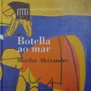 Libros: BOTELLA AO MAR. MARILAR ALEIXANDRE (ILUSTRACIONES JOSÉ COBAS). MUSEO DE BELAS ARTES A CORUÑA. Lote 159612094