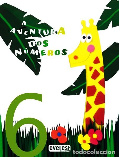 Libros: A AVENTURA DOS NÚMEROS 6Volúmenes/32 PÁGINAS GRAN FORMATO PASTA FLEXIBLE - Foto 6 - 183547106