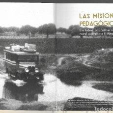 Libros: LAS MISIONES PEDAGOGICAS 1931 - 1936 FOTOGRAFIAS,SU HISTORIA,LABOR, CURIOSISIMO ,PUB VARIAS INSTITU. Lote 194730437