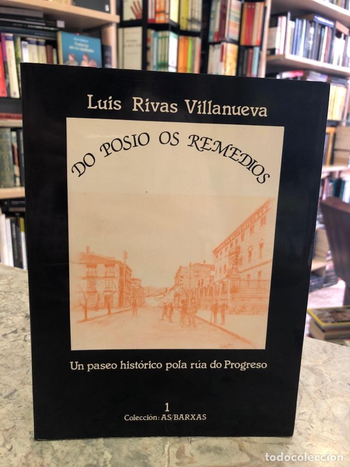 DO POSIO OS REMEDIOS. UN PASEO HISTÓRICO PILA RÚA DO PROGRESO (Libros Nuevos - Otras lenguas locales - Gallego)