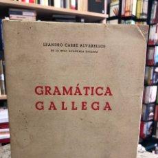 Libros: GRAMÁTICA GALLEGA. Lote 207809875