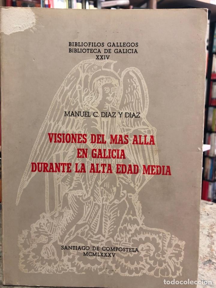 VISIONES DEL MÁS ALLÁ EN GALICIA DURANTE LA ALTA EDAD MEDIA (Libros Nuevos - Otras lenguas locales - Gallego)