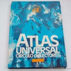 Libros - Atlas universal - Círculo de lectores - Primera edición 1980 - - 50237909