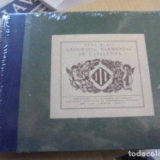 Libros: PERE BLASI / GEOGRAFIA ELEMENTAL DE CATALUNYA - 1935 FASCIMIL - PRECINTADO - FOTOS MAPAS. Lote 79076433