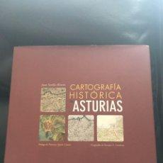 Libros: CARTOGRAFIA HISTORICA DE ASTURIAS. Lote 92018390