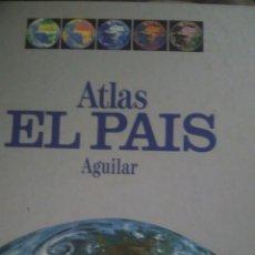 Libros: ATLAS EL PAIS AGUILAR. UNIVERSAL. 1980. CARTONÉ. 300 PÁGINAS. 1750GR.. Lote 98947182