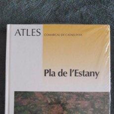 Libros: ATLES COMARCAL DE CATALUNYA / PLA DE L'ESTANY / INSTITUT CARTOGRÀFIC DE CATALUNYA / PRECINTAT. Lote 101263603