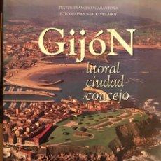 Libros: GIJÒN, CIUDAD CONCEJO. Lote 112836248
