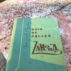 Libros: ZAMORA, CALLEJERO. Lote 117186715