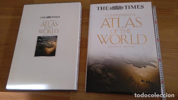 Libros: COMPREHENSIVE ATLAS OF THE WORLD, THE TIMES. EDICION DE LUJO - Foto 2 - 117558431