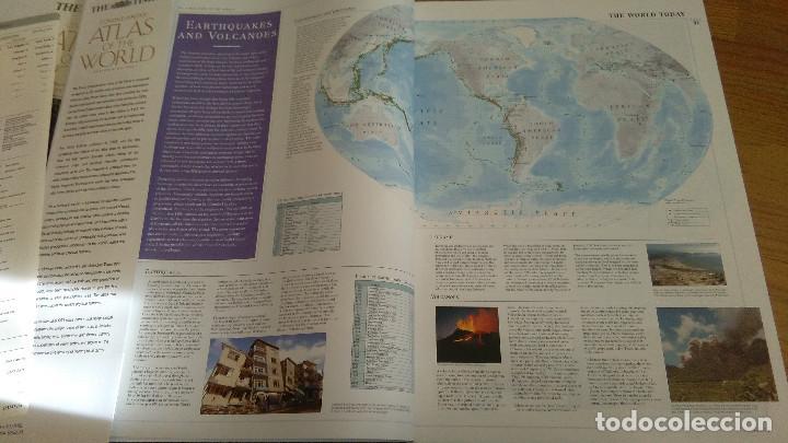 Libros: COMPREHENSIVE ATLAS OF THE WORLD, THE TIMES. EDICION DE LUJO - Foto 4 - 117558431