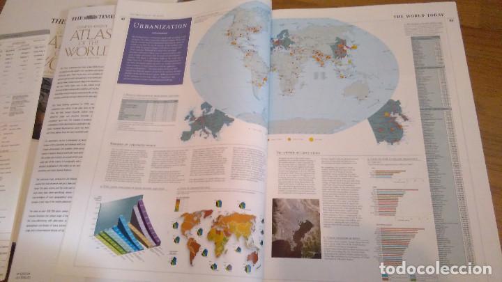 Libros: COMPREHENSIVE ATLAS OF THE WORLD, THE TIMES. EDICION DE LUJO - Foto 8 - 117558431
