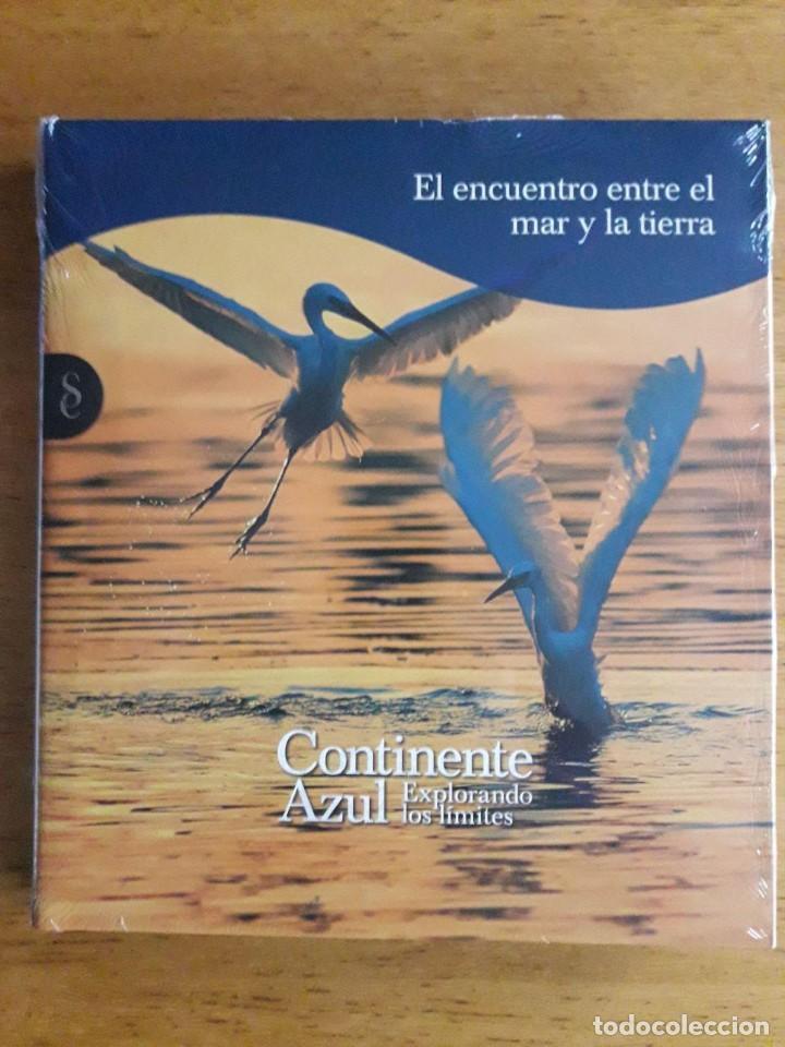 EL ENCUENTRO ENTRE EL MAR Y LA TIERRA / CONTINENTE AZUL EXPLORANDO LOS LÍMITES / SIGNO EDITORES / 2 (Libros Nuevos - Humanidades - Geografía)