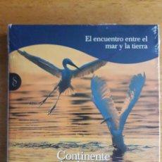 Libros: EL ENCUENTRO ENTRE EL MAR Y LA TIERRA / CONTINENTE AZUL EXPLORANDO LOS LÍMITES / SIGNO EDITORES / 2. Lote 118015387