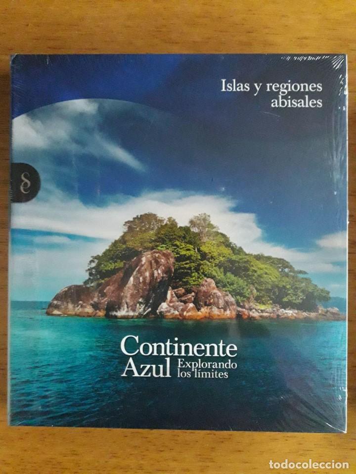 ISLAS Y REGIONES ABISALES / CONTINENTE AZUL EXPLORANDO LOS LÍMITES / SIGNO EDITORES / 2011 / PRECIN (Libros Nuevos - Humanidades - Geografía)